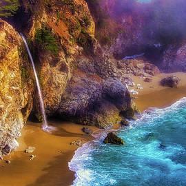 Lovely Big Sur Falls - Garry Gay