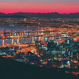 pixabay - lovely view of table bay harbour - cape town