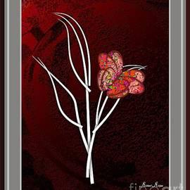 Loving butterflies by Michael Mirijan