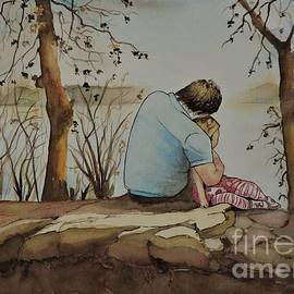 Lise PICHE - Quiet moment with Dad in colour