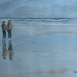 Low Tide At Agate Beach by Jenny Armitage