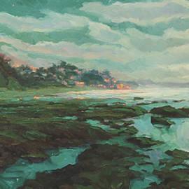 Low Tide at Moonlight by Steve Henderson