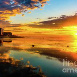 Claudia M Photography - Low tide sunrise