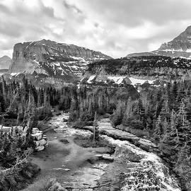 Lower Cataract Creek by Allan Van Gasbeck