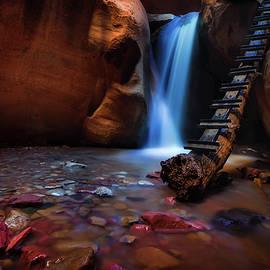 Dave Koch - Lower Falls at Kanarra Canyon