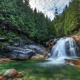 Lower Falls in Golden Ears Provincial Park by Pierre Leclerc Photography