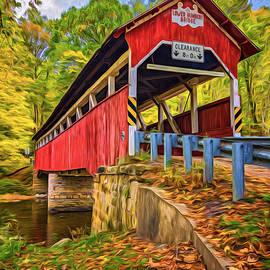 Steve Harrington - Lower Humbert Covered Bridge 2 - Paint