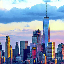 Regina Geoghan - Lower Manhattan Sundown