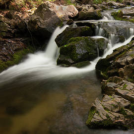 Lower Pup Creek Falls by Paul Rebmann