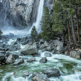 Lower Yosemite Falls by Belinda Greb