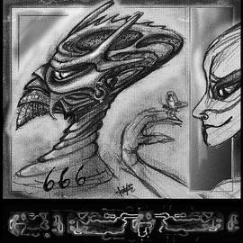 Hartmut Jager - Lucifer  Sketch