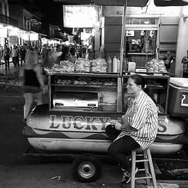 Jay Waters - Lucky Dog Vendor, Bourbon Street