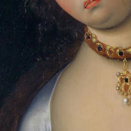Lucretia  Detail - Lucas the Elder Cranach