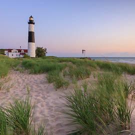 Adam Romanowicz - Ludington Beach and Big Sable Point Lighthouse