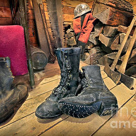 These Boots Are Made For Logging by Martin Konopacki