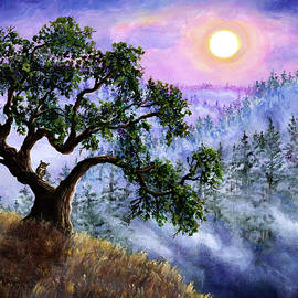 Laura Iverson - Luna in Mist and Fog