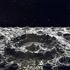 Lunar Crater, 1874.  by Granger