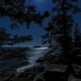 Marty Saccone - Lunar Seascape At Schoodic