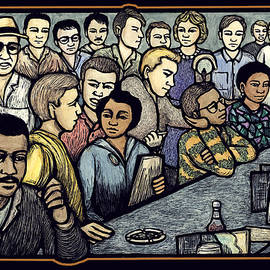 Lunch Counter by Ricardo Levins Morales