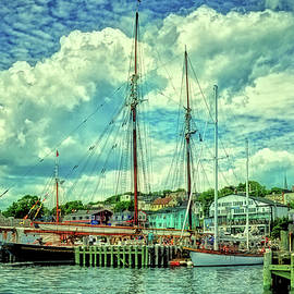 Rodney Campbell - Lunenburg Harbor