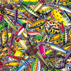 Lure Collage by JQ Licensing