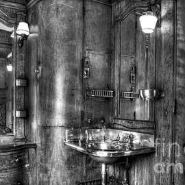 Luxury Railroad Bathroom Car by Paul W Faust - Impressions of Light