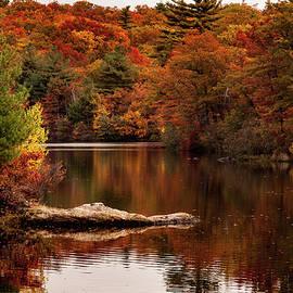 Jeff Folger - Lynn woods Birch pond fall colors