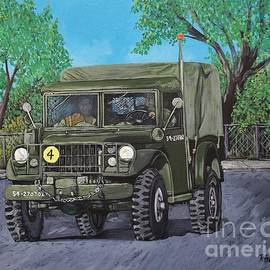 Reb Frost - M37 Truck 3BAM