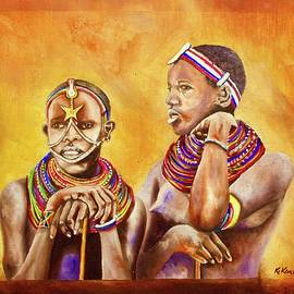 Maasai Legends by Richard Kimemia