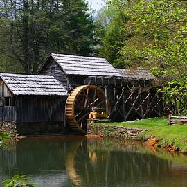Kathryn Meyer - Mabry Mill in Spring 2