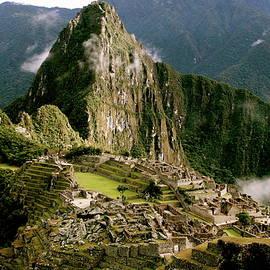 Machu Picchu At Sunrise by Brandy Little
