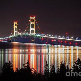 Norris Seward - Mackinac Bridge Reflections-3813  Pure Michigan