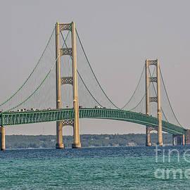 Mackinac Bridge by Sue Smith