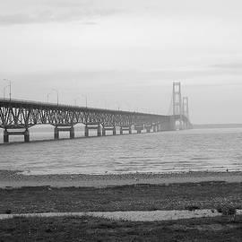 Mackinaw Bridge by Scott Hovind