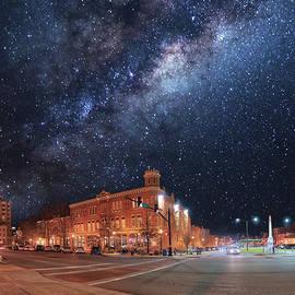 Doug Nurnberger - Macon Things Series - Downtown Stars 1