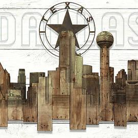 Doug Kreuger - Made-to-order Dallas Texas Skyline Wall Art