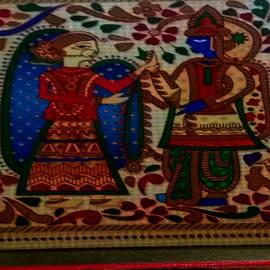 Nilu Mishra - Madhubani art