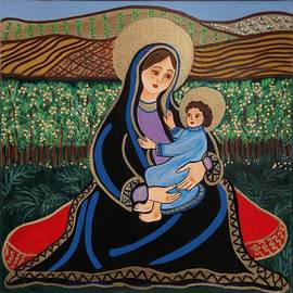 Susie Grossman - The Virgin and Child