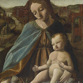Master of the Pala Sforzesca - Madonna and Child with Cat