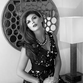 William Dey - Madonna Chanel BW