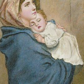 Madonna of the Poor  - Italian School
