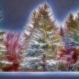 Merrry Christmas And Happy New Year by Jim Lepard