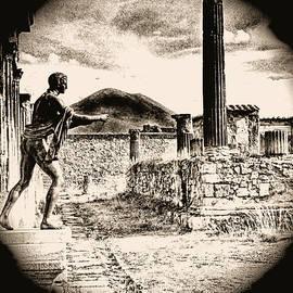 Magic Lantern Pompeii by Nigel Fletcher-Jones