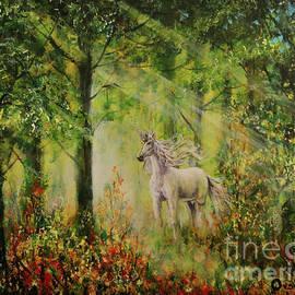 Magic Unicorn by Dariusz Orszulik