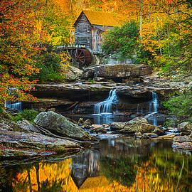 Matt Shiffler - Magical Autumn at Babcock Mill