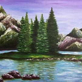 Magical lake in Canada by Elena Dremova