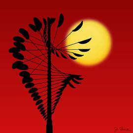Magical Mobile and Sun by Joe Bonita