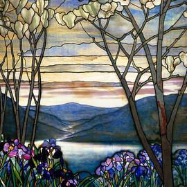 Louis Comfort Tiffany - Magnolias and Irises