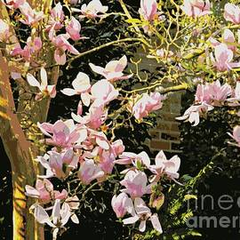 Magnolias And Sunshine Posterized by Leanne Seymour