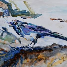 Beverley Harper Tinsley - Magpie On The Coast
